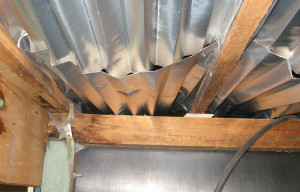 Compare Underfloor Insulation: Reflective Foil Joined End To End